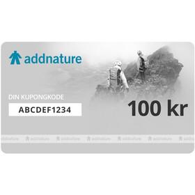 Addnature Gavekort 100 kr